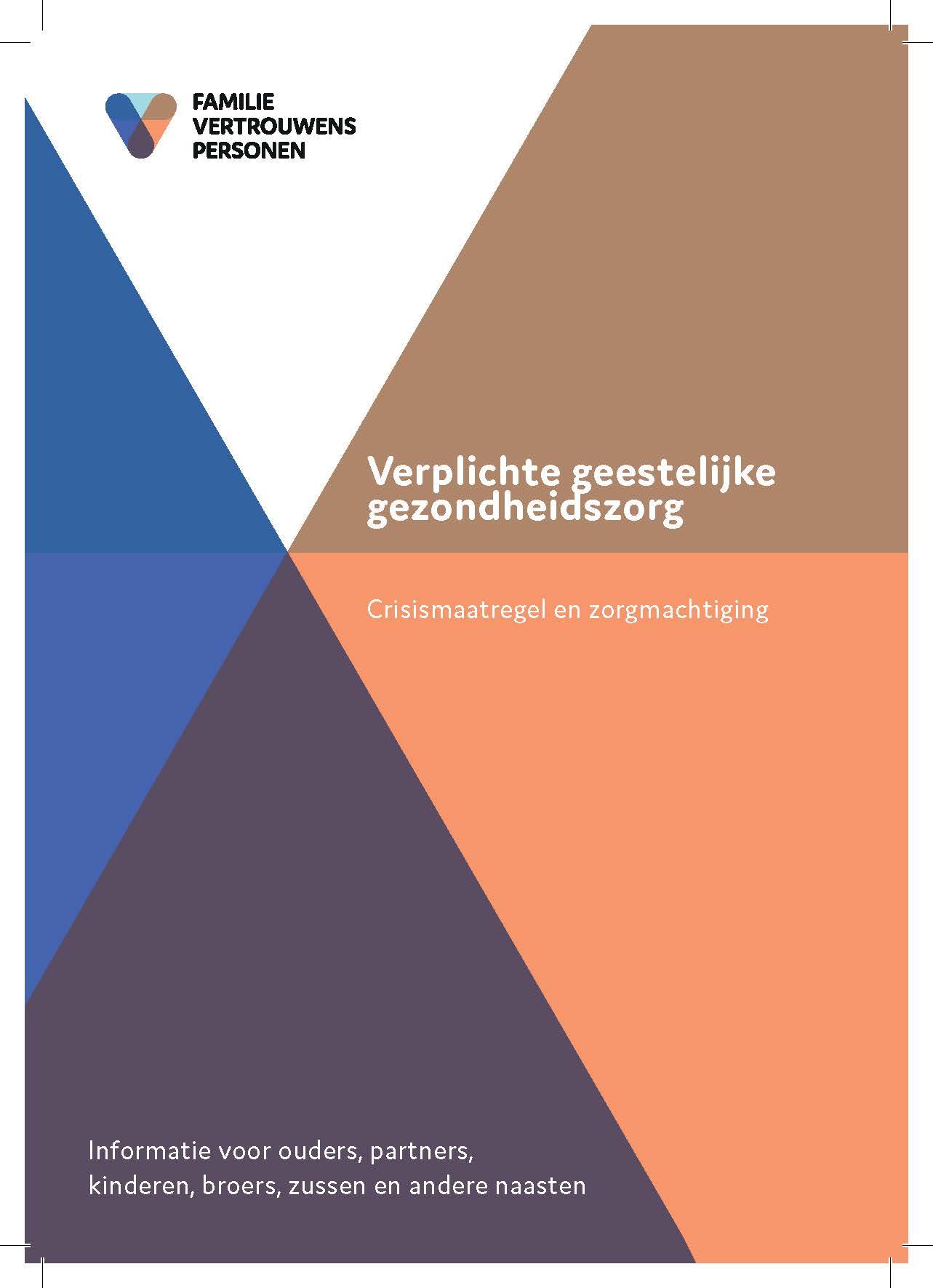 Wvggz: brochure voor naasten