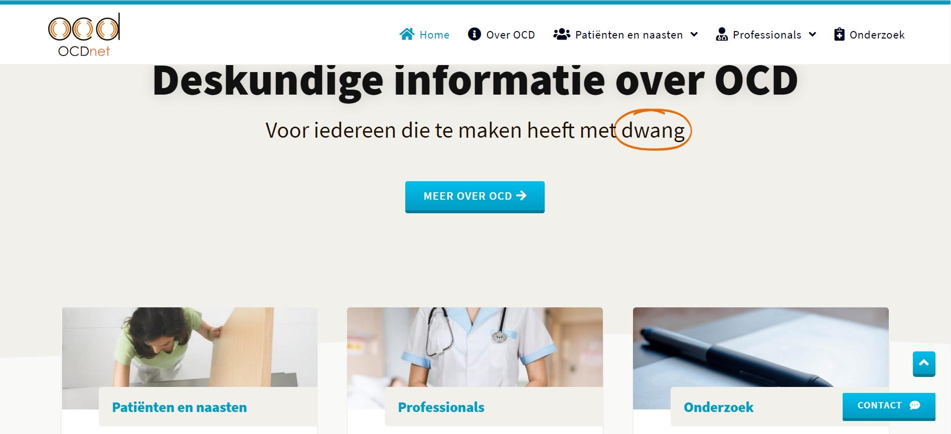 Website over OCD
